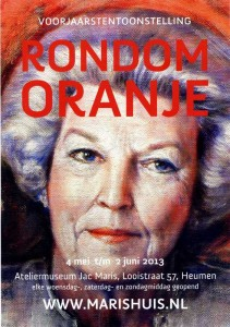 Affiche - Rondom Oranje