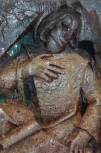 Sacramentsaltaar - Evangelist Johannes