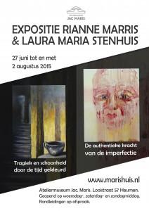 A4formaat -  DefinitievePoster-ExpoMarishuis-RMarris&LMStenhuis