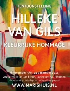Affiche - Hilleke van Gils