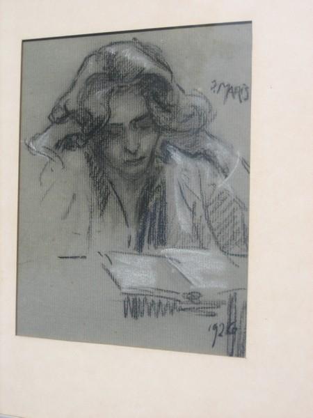 A-018 – 1926 Willy Maris tekening 20×16 coll Derks Heumen