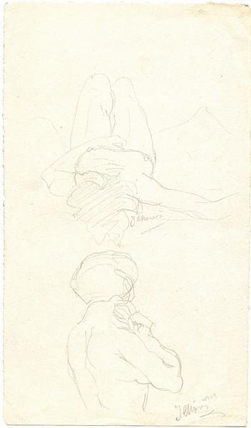 A-021 – 1929 Naaktstudies potlood 226×131 sd 1929
