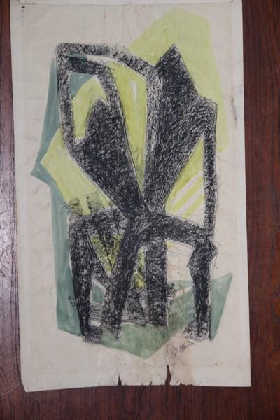 A-022 – Abstract dansend paar