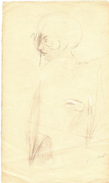 A-046 – Kop stilleven potlood 286×169 J Maris pap a