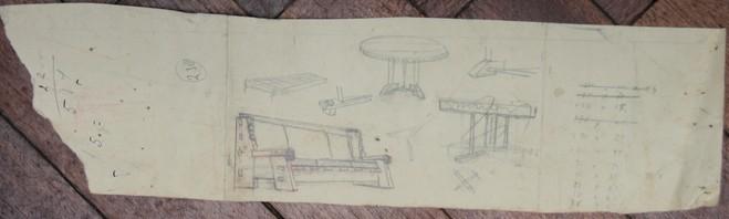 A-057 – Meubilair schetsen