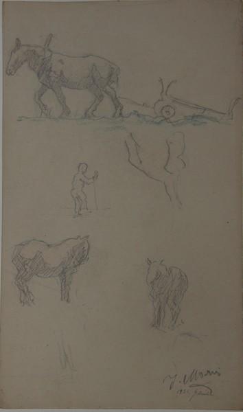 A-062 – Paarden en ploeg