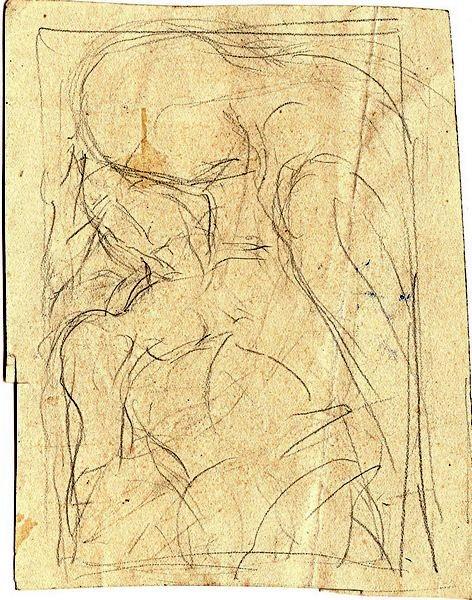 C-076 – Pieta potlood 138×110