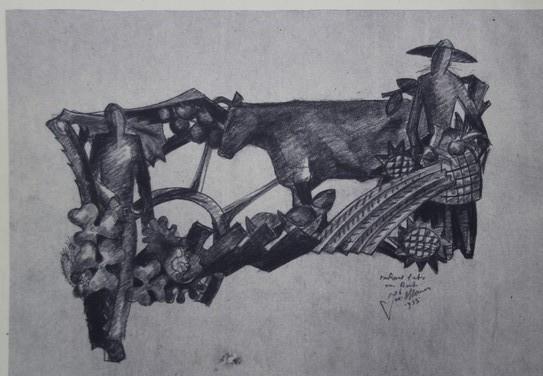 D-030 – 1955 Muurdecoratie