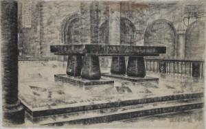 Ontwerptekening (D-032), ges. ged. 1955