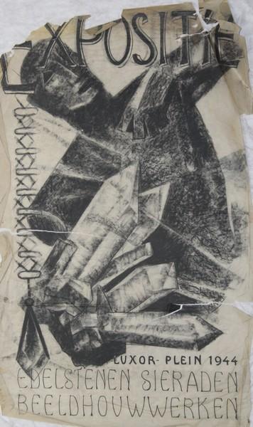 D-039 – 1955 Tentoonstelling Luxor Nijmegen
