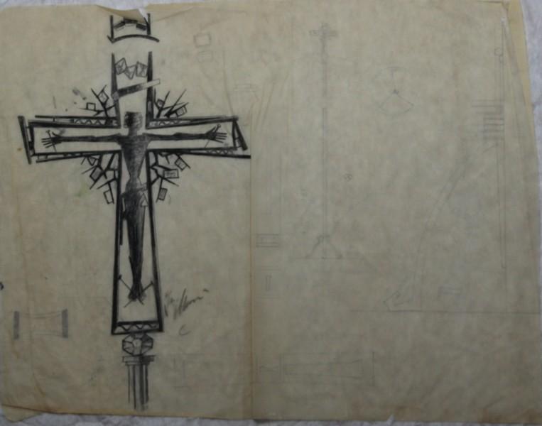 D-093 – Ontwerp crucifix