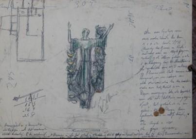 D-095 – Ontwerp heiligenbeeld