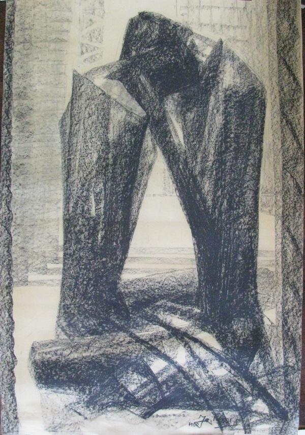 E-046-1960-Tweefiguren(schenkingLaney)