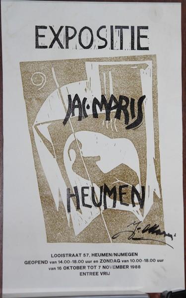 G-011 – 1988 oct nov Affiche Heumen (1)